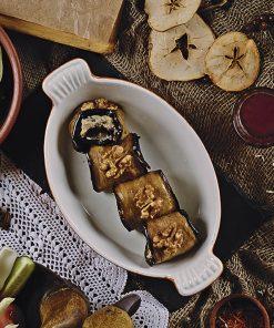 Баклажаны  с толченым грецким орехом