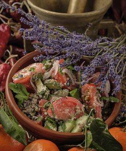 Овощной салат с орехами по-грузински