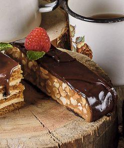 Шоколадный сникерс