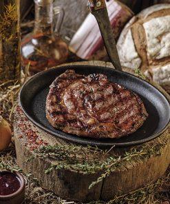 Мясо и овощи на углях